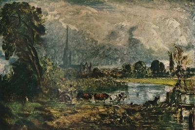 Salisbury Cathedral, c1829. (1911) by John Constable