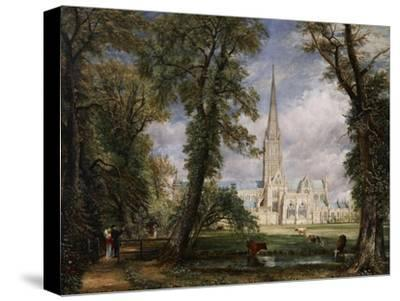 Salisbury Cathedral from the Bishop's Garden, 1826 by John Constable