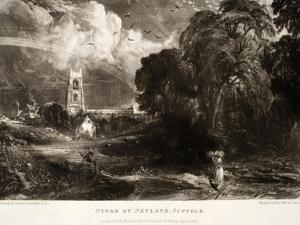 Stoke by Neyland by John Constable
