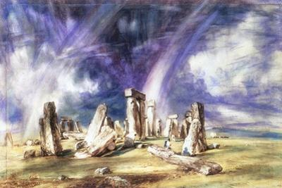 Stonehenge, C1835 by John Constable