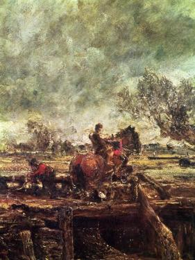 Study For the Leaping Horse by John Constable