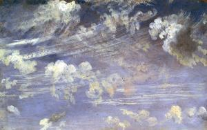 Study of Cirrus Clouds by John Constable