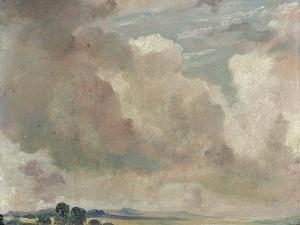 Study of Clouds, 1825 by John Constable