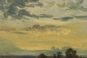 Summer Sunset by John Constable