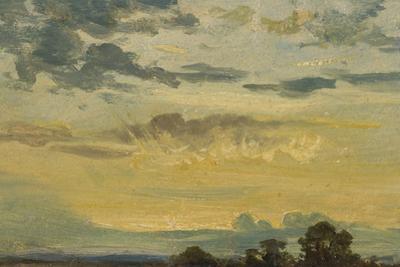Summer Sunset by John Constable