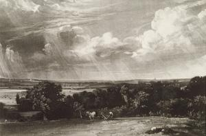 Summerland, Engraved by David Lucas (1802-81) (Mezzotint) by John Constable