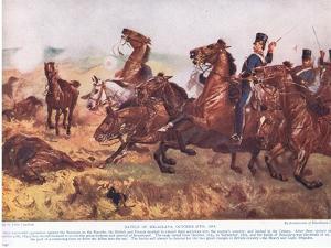 The Battle of Balaclava October 1854 by John Constable
