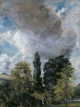The Close, Salisbury, Wiltshire by John Constable