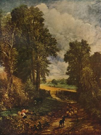 'The Cornfield', 1826,  (1932) by John Constable