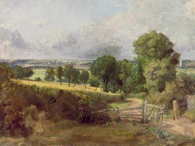 The Entrance to Fen Lane by John Constable