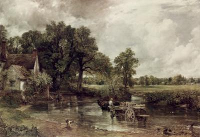 The Haywain by John Constable