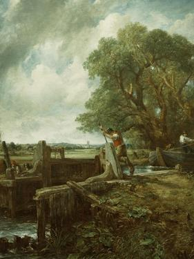 The Lock, 1824 by John Constable