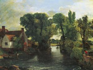 The Mill Stream, Willy Lott's House by John Constable
