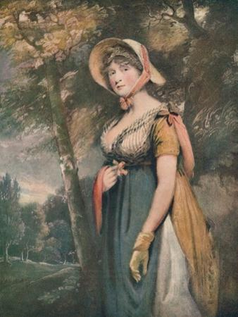 'The Right Honourable Lady Louisa Manners', c1821 by John Constable