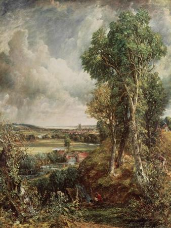 The Vale of Dedham, 1828 by John Constable