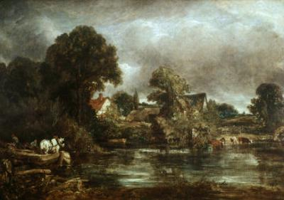 The White Horse, 1820 by John Constable