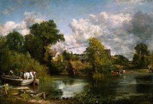 The White Horse by John Constable