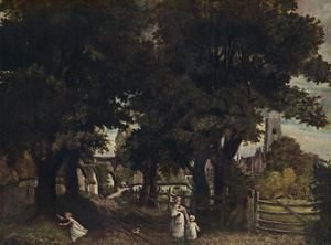 'Water Lane, Dedham', c1802, (1911) by John Constable