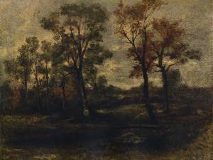 West End Fields, Hampstead, c1833 by John Constable