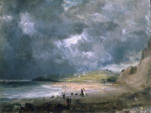 Weymouth Bay, 1816 by John Constable