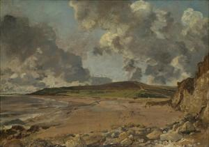 Weymouth Bay: Bowleaze Cove and Jordon Hill, C. 1817 by John Constable
