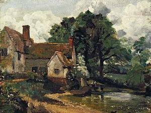 Willy Lott's House, 1816 by John Constable