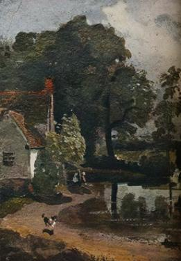 'Willy Lott?s House', c1811 by John Constable