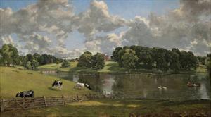 Wivenhoe Park, Essex 1816 by John Constable