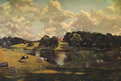 'Wivenhoe Park, Essex', 1816 by John Constable