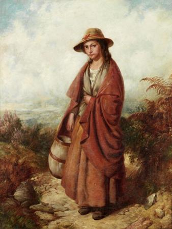 A Welsh Milkmaid by John Corbould