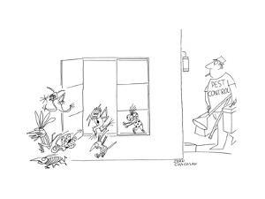New Yorker Cartoon by John Corcoran