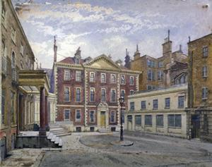 Austin Friars Street, City of London, 1881 by John Crowther