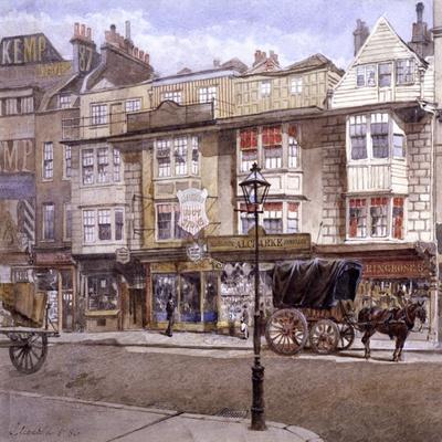 Bishopsgate, London, 1886