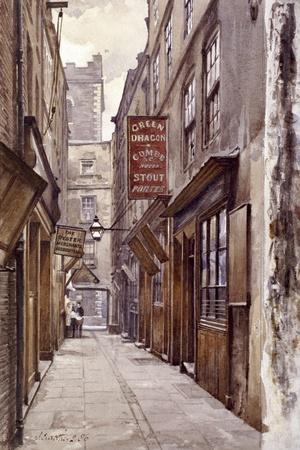 Botolph Alley, London, 1886