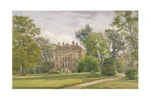 Garden Front of Wandsworth Manor House, St John's Hill, Wandsworth, London, 1887 by John Crowther