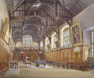 Gray's Inn Hall, London, 1886 by John Crowther