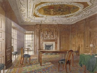 Interior View of the Oak Room, New River Head, Finsbury, London, 1886