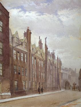 Old Buildings, Lincoln's Inn, London, 1879 by John Crowther