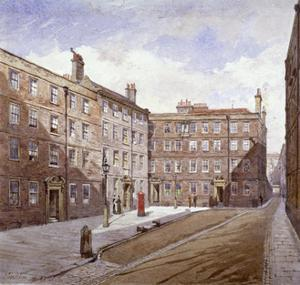 View of Brick Court, Middle Temple, London, 1882 by John Crowther