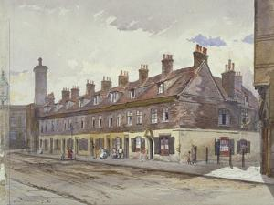 View of Old Pye Street, Westminster, London, 1883 by John Crowther