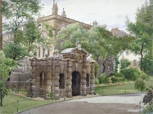 View of the South Front of York Watergate, Buckingham Street, Westminster, London, 1887 by John Crowther