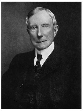 John D Rockefeller, American Industrialist, Late 19th Century
