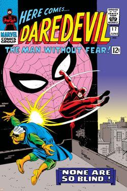 Daredevil No.17 Cover: Daredevil, Spider-Man and Marauder by John
