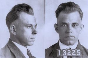 John Dillinger Mugshot, Ca. 1925