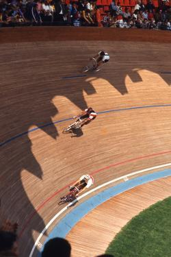 Bicycle Race at 1972 Summer Olympic Games in Munich Germany by John Dominis