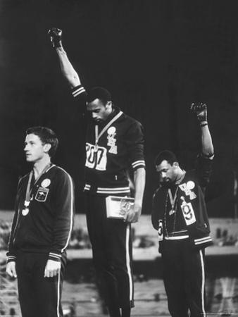 Black Power Salute, 1968 Mexico City Olympics