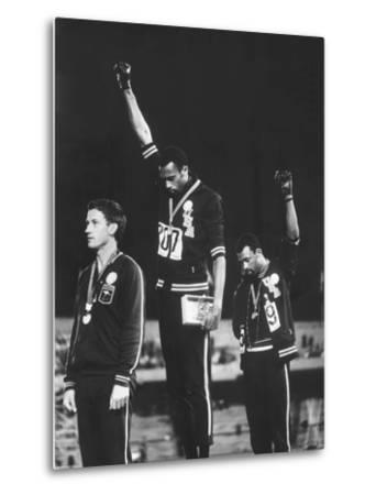 Black Power Salute, 1968 Mexico City Olympics by John Dominis