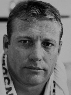 Closeup of Baseball Player Mickey Mantle by John Dominis