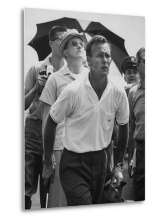 Golfer Arnold Palmer by John Dominis