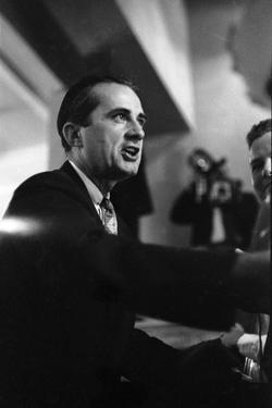 Governor Allan Shivers Delivering His Speech to the Convention Floor, Amarillo, Texas, 1952 by John Dominis